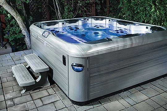 Hot springs hot tub electrical hook up
