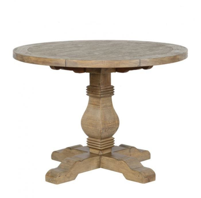 Caleb Collection 42 Round Dining Table, Round Table 42