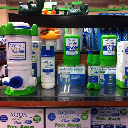 Aqua Smarte products