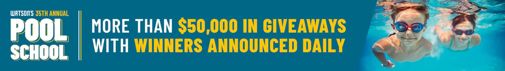 More than $50,000 in giveaways with winners announced daily