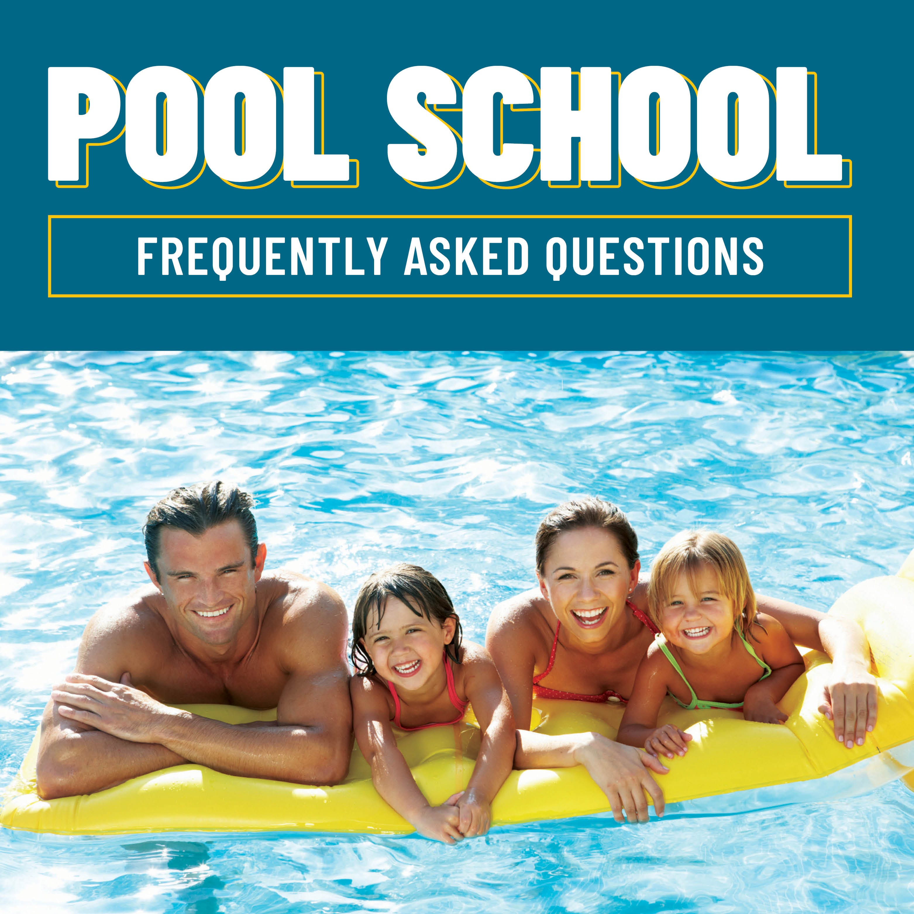 Pool School Frequently Asked Questions
