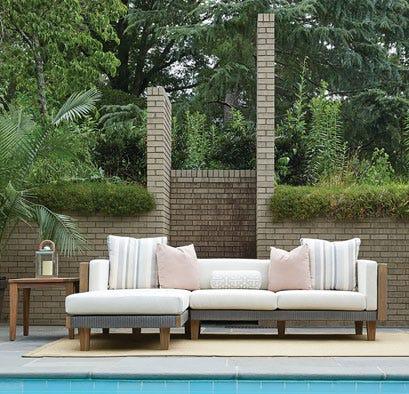 Lloyd Flanders outdoor furniture