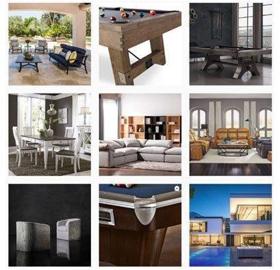 Gallery of instagram photos