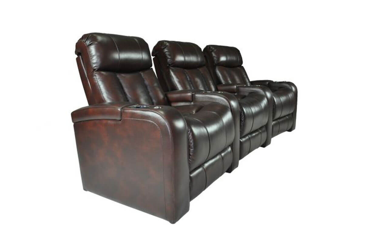 Aspen 3-Seat Home Theater Group