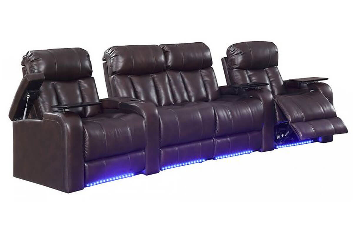 Aspen 4-Seat Home Theater Group