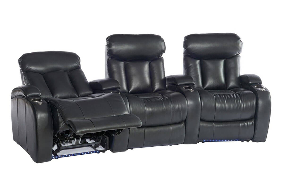 Belaire 3-Seat Home Theater Group