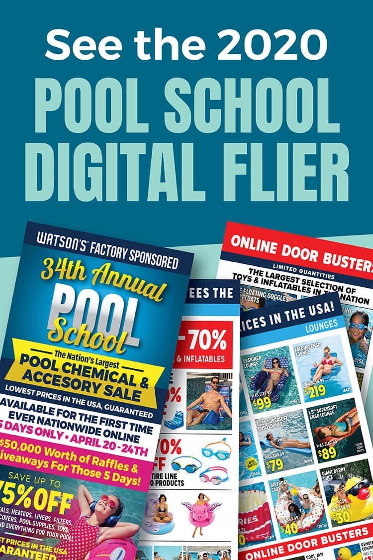 Pool School Flyers