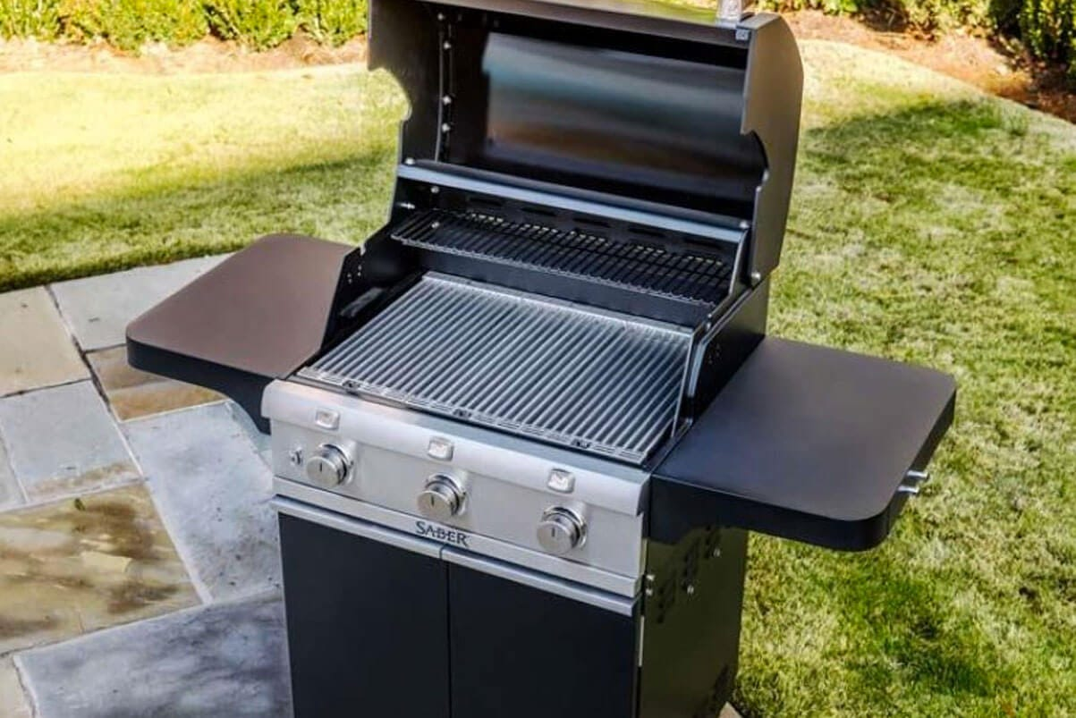 Cast Black 500 3-Burner Propane Gas Grill