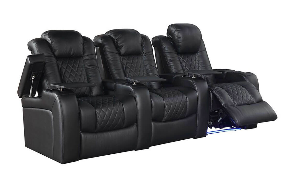 Turbo 3-Seat Home Theater Group